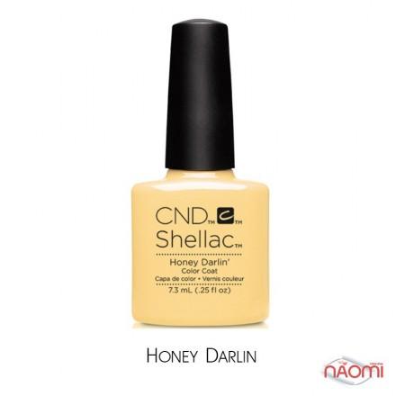 CND Shellac Flirtation Honey Darlin пастельно-жёлтый, 7,3 мл, фото 1, 339.00 грн.