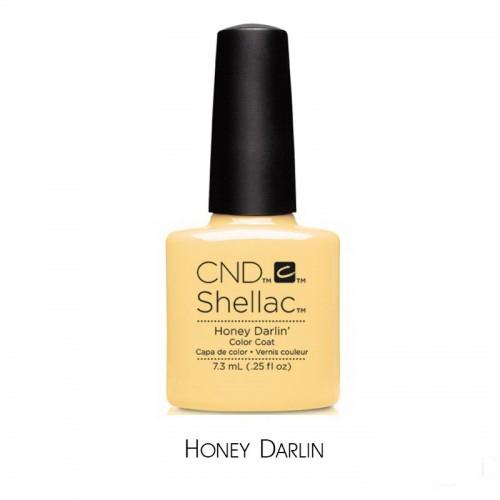 CND Shellac Flirtation Honey Darlin, пастельно-жовтий, 7,3 мл, фото 1, 339.00 грн.