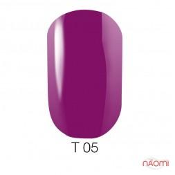 Лак Naomi T005 фуксия полупрозрачный, 12 мл