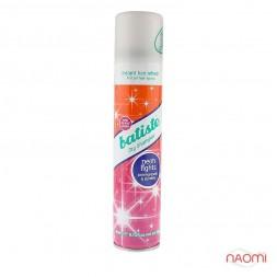 Сухой шампунь для волос - Batiste Dry Shampoo, Neon Lights pomegrante & jasmine, 200 мл
