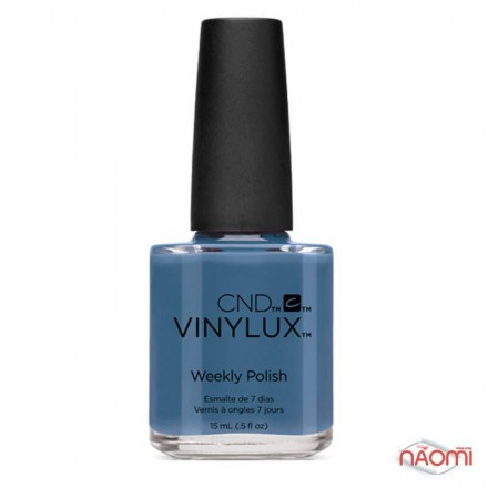 Лак CND Vinylux Craft Culture 226 Denim Patch голубой, эмалевый, плотный, 15 мл, фото 1, 139.00 грн.