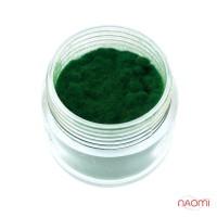Бархатная пудра, цвет зеленый