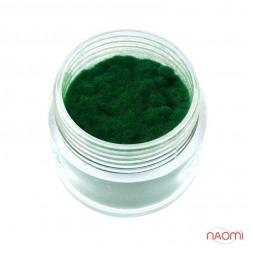 Оксамитова пудра, колір зелений
