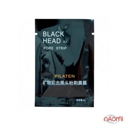 Черная маска Pilaten для лица, 6 г, фото 1, 10.00 грн.