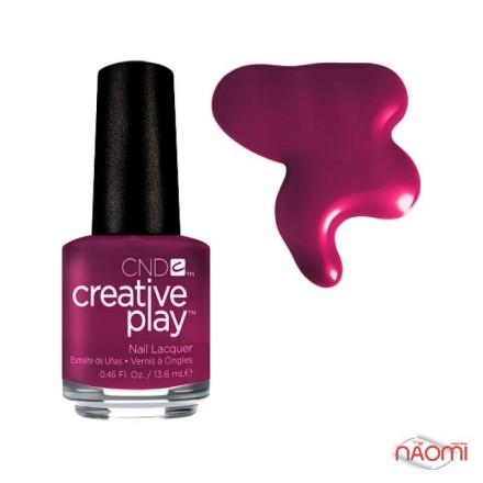 Лак CND Creative Play 460 Berry Busy, бордовый, 13,6 мл, фото 1, 119.00 грн.
