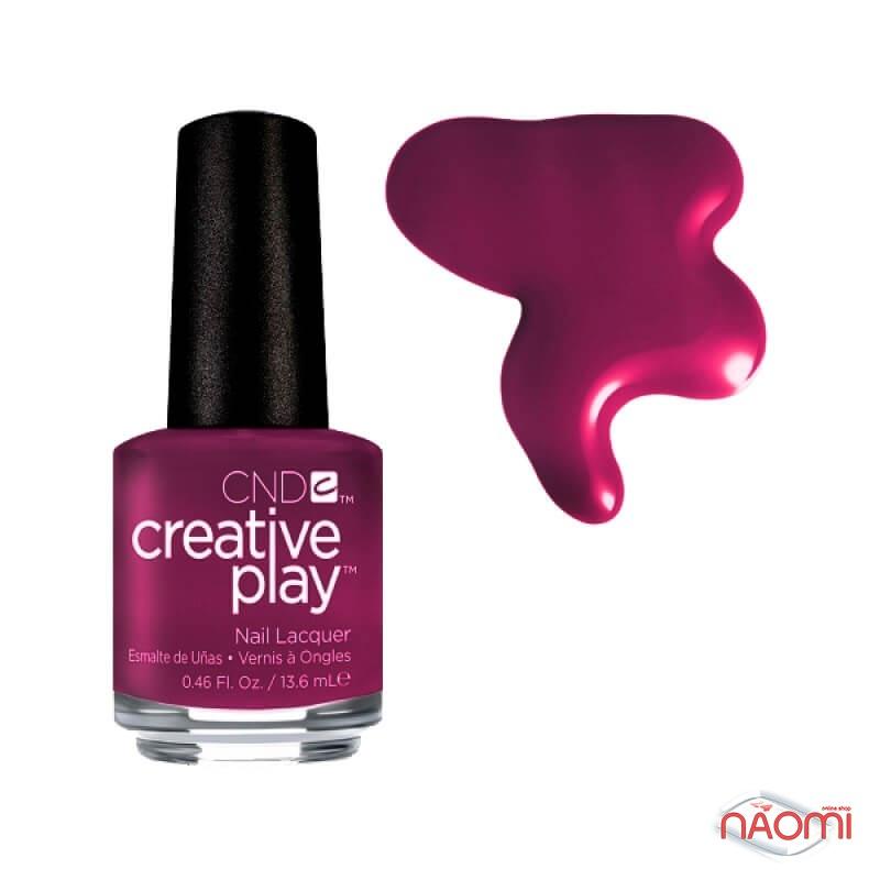 Лак CND Creative Play 460 Berry Busy, бордовый, 13,6 мл, фото 1, 129.00 грн.