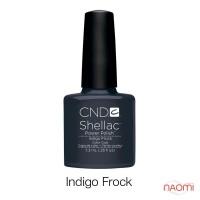 CND Shellac Indigo Frock синий с серым оттенком, 7,3 мл