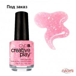 Лак CND Creative Play 471 Pinkle Twinkle, розовый, 13,6 мл
