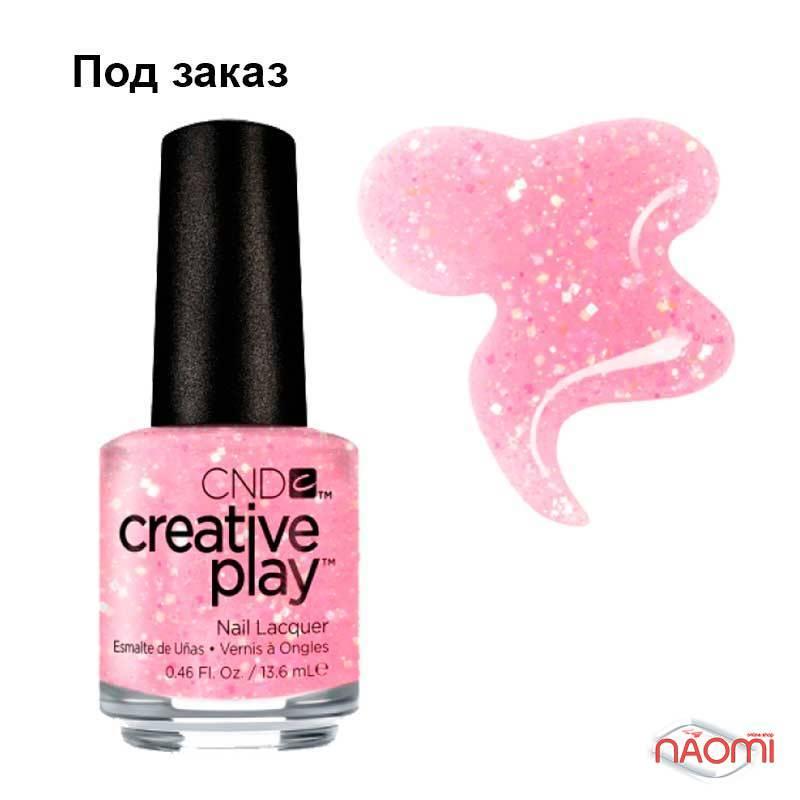 Лак CND Creative Play (471) Pinkle Twinkle, рожевий, 13,6 мл, фото 1, 129.00 грн.
