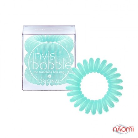 Резинка-браслет для волос Invisibobble ORIGINAL Mint to Be, цвет мятный, 30х16 мм, 3 шт., фото 1, 99.00 грн.