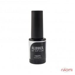 Топ каучуковый для гель-лака Naomi Rubber UV Top Coat, 6 мл