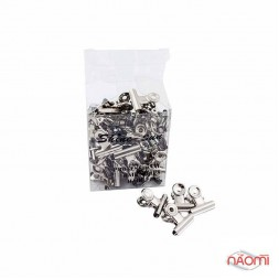 Упаковка прищіпок для затискання нігтів (метал. мала)