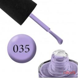 Лак NUB 035 Icy Lilac пастельная сирень, 14 мл