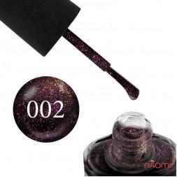 Лак NUB 002 Cosmic Blackberry баклажан, 14 мл