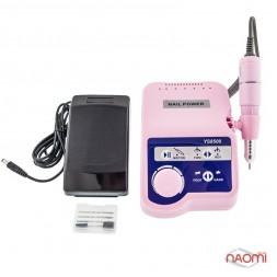Фрезер Electric Drill YS 8500, 35 000 оборотов/мин, цвет розовый