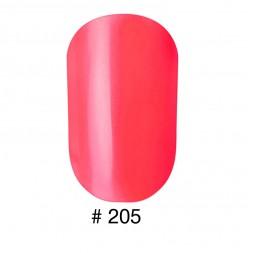Лак Naomi 205 насыщенный ярко-розовый, 12 мл