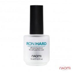 Тройное укрепляющее покрытие Naomi Iron Hard, 15 мл
