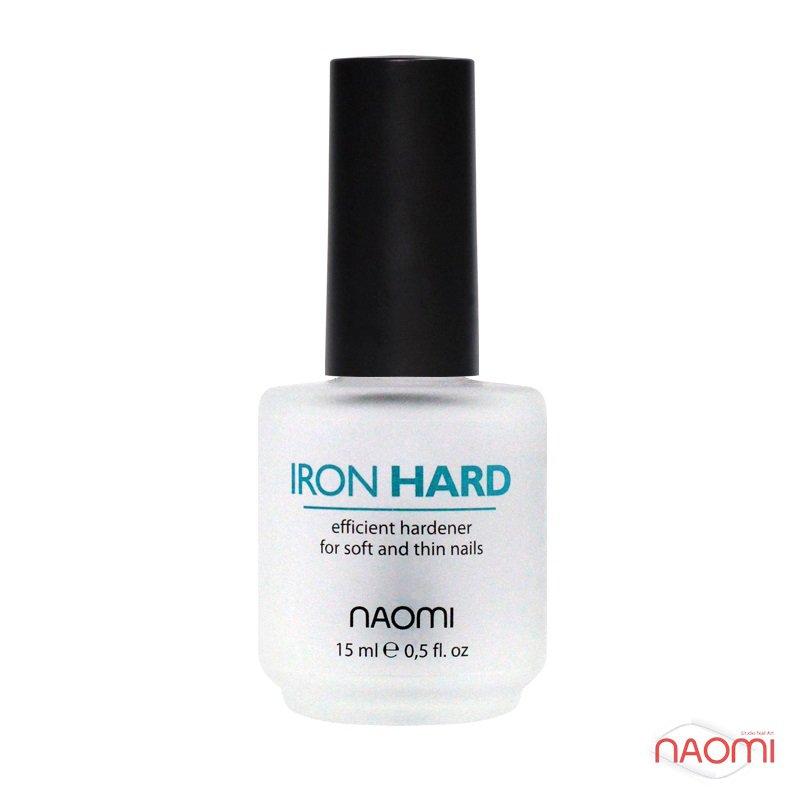 Тройное укрепляющее покрытие Naomi Iron Hard, 15 мл, фото 1, 60.00 грн.