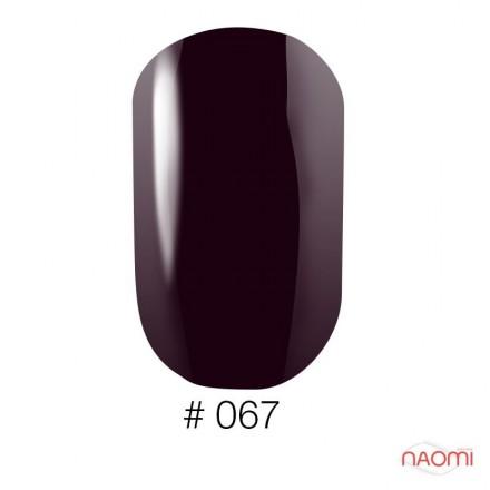 Лак Naomi 067 темный сливово-фиолетовый, 12 мл, фото 1, 60.00 грн.