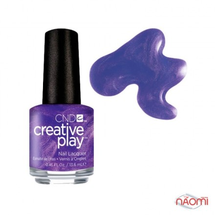 Лак CND Creative Play 441 Cue The Violets, фиолетовый, 13,6 мл, фото 1, 119.00 грн.