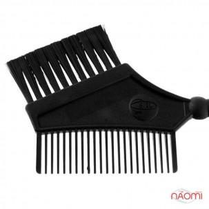 Пензель для фарбування волосся з гребінцем (комбінований) великий