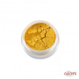 Дзеркальна пудра для втіркі Naomi № 9, колір золото, 1 г