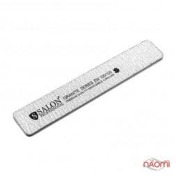 Пилка для ногтей Salon Professional 100/100 GRANITE, прямая, широкая
