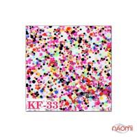 Декор для ногтей конфетти (камифубуки) KF 033