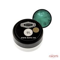 3D Гель-пластилин KOTO 11 зеленый, 5 г