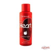 Жидкость для снятия гель-лака и очистки кистей Heart Gel Remover Райское яблоко, 100 мл