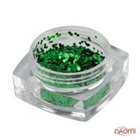 Декор для ногтей Salon Professional квадратики, цвет зеленый