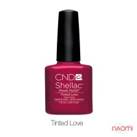 CND Shellac Tinted Love бургундский, 7,3 мл
