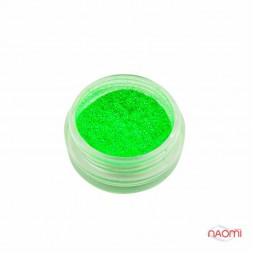 Жидкая слюда, цвет зелёный JS-06