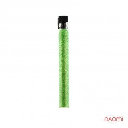 Блискітки Salon Professional, розмір 008 6004, колір зелений, в пробірці