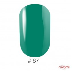 Лак Naomi VINYTONE 67 зеленый, 12 мл