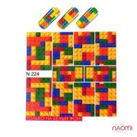 Слайдер-дизайн N 224 Лего