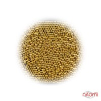 Бульонки для декорування нігтів Starlet Professional, колір золото, в пакеті, 8 г