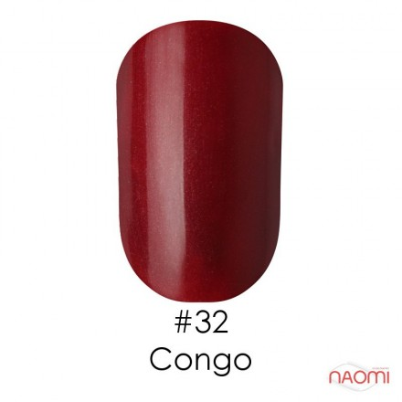 Гель-лак Naomi 032  Congo бордово-каштановый, 6 мл, фото 1, 55.00 грн.