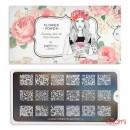 Пластина для стемпинга MoYou London серии Flower Power Collection 11 Цветы, узоры, фото 2, 225.00 грн.