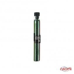 Блестки Starlet Professional для украшения ногтей, цвет зеленый в пробирке