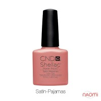 CND Shellac Intimates Satin Pajamas какао с молоком, 7,3 мл
