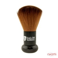 Мітелка для волосся, коричнева, ворс 5 см