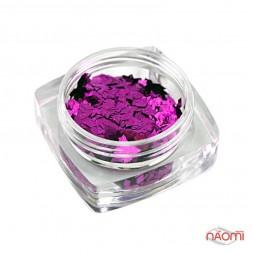 Декор для нігтів Salon Professional Ромбики, колір темно-рожевий 012 008