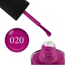 Лак NUB 020 Heroine виноградный, 14 мл