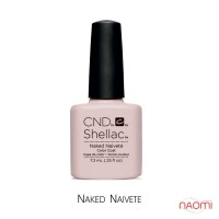CND Shellac Naked Naivete светло-розовый, 7,3 мл