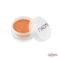 Акриловая пудра Naomi № 004, 3 г оранжевая