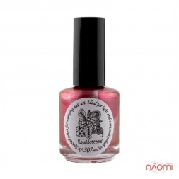 Краска для стемпинга EL Corazon - Kaleidoscope с зеркал.№ st-307 First kiss/темно-оранжевый 15 мл