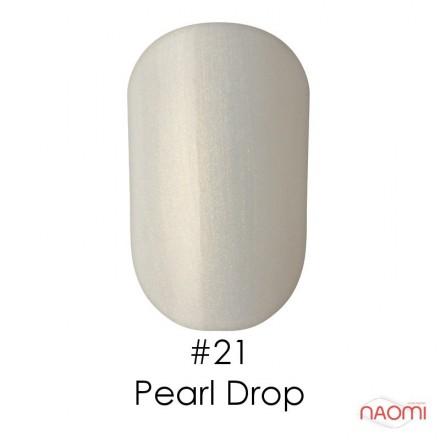 Гель-лак Naomi 021  Pearl Drop прозрачно-молочный с  золотистыми блестками, 6 мл, фото 1, 55.00 грн.