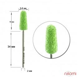 Насадка для педикюра Композит, колпак зеленый 5 мм (G 50)