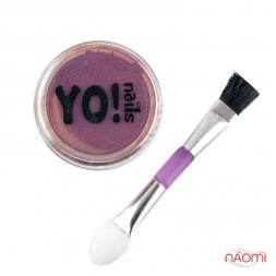 Косметичний пігмент Yo Nails Elements на основі срібла, колір синьо-фіолетовий, 1 г